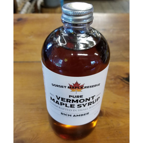 Pure Maple Syrup Glass